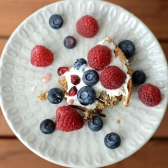 Easy Gluten Free Chocolate Chip Cookie Fruit Pizza