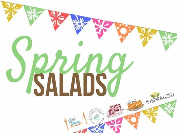 5 Healthy Spring Salads via FitFoodieFinds.com