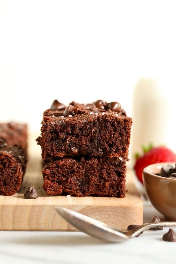 2 paleo brownies