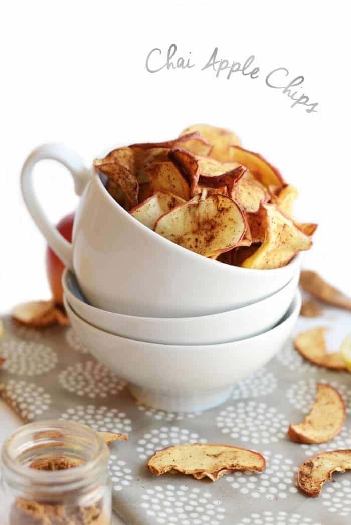 Chai Apple Chips from FITFOODIEFINDS.COM