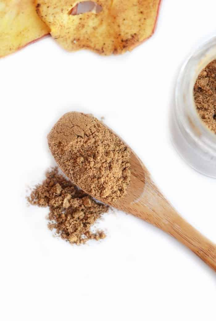 Make your own DIY chai spice with spices you already have in your cabinet. Add to an iced drink, smoothie, overnight oats, or your favorite sweet snack for a chai spice twist!