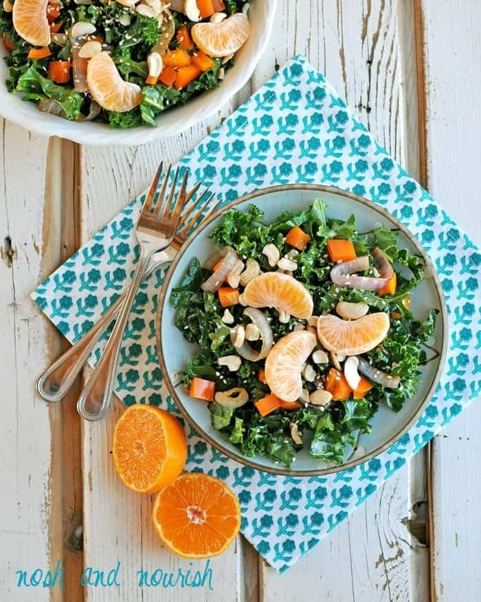Chinese Chopped Salad + Orange Sesame Dressing