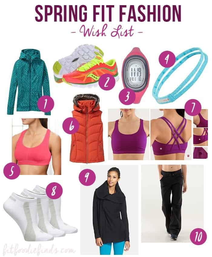 Spring Fit Fashion Wish List via FITFOODIEFINDS.COM