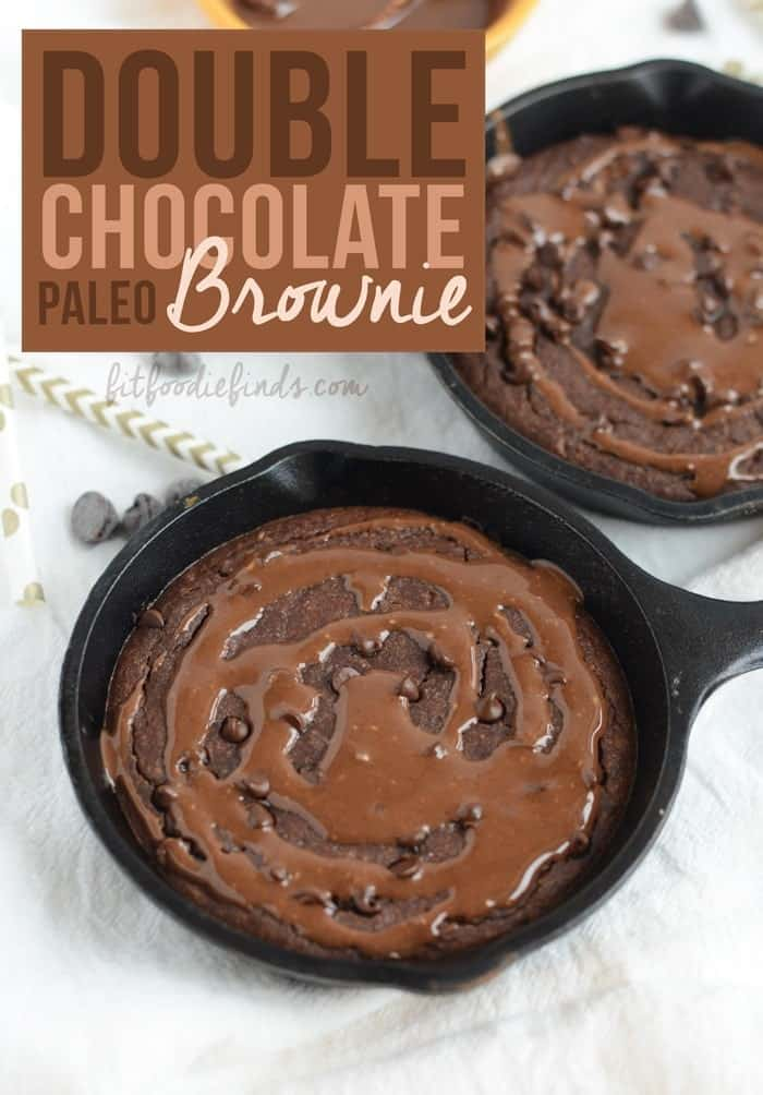 Paleo friends, this one's for you! Make this Single Serve Paleo Brownie after dinner for a decadent, healthier single serve dessert!