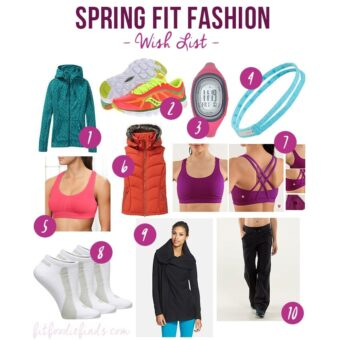 Spring Fit Fashion Wishlist