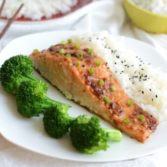 Super Tasty Asian Salmon