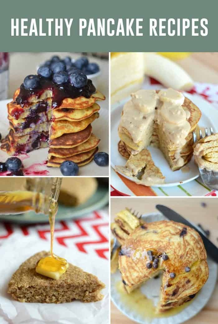 Healthy Pancake Recipes via FitFoodieFinds.com