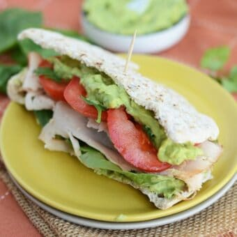 Cilantro Lime Avocado Spread