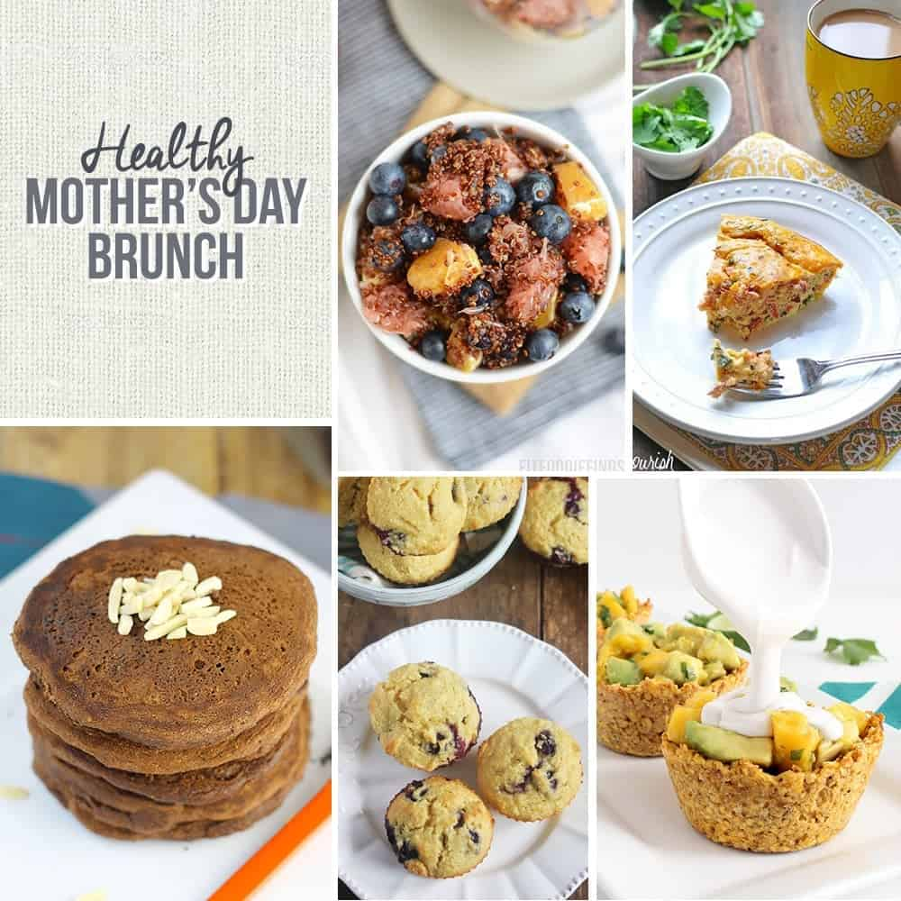 5 Healthy Mother's Day Brunch Recipes from your favorite bloggers! #GrainFree #GlutenFree #DairyFree