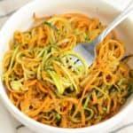 Easy, Herby Spiralized Veggies