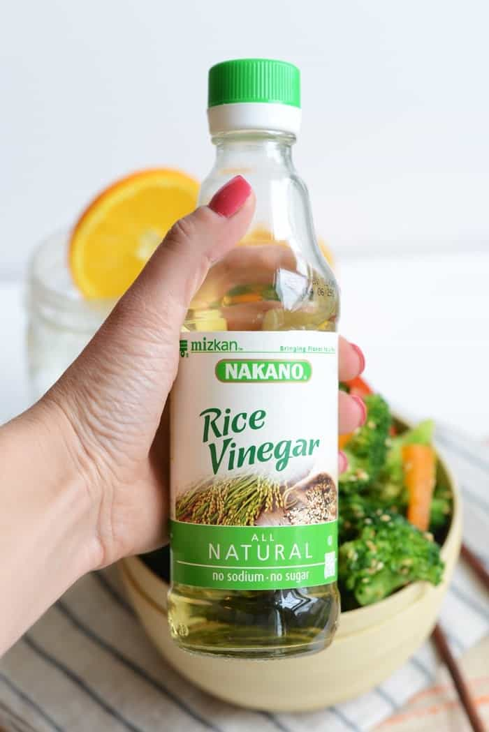 Nakano Rice Vinegar- All Natura. No sodium, no sugar, and gluten free!