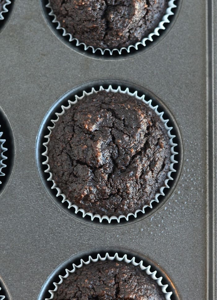 Caveman Chocolate #Paleo Cupcakes with Bacon! via FitFoodieFinds.com