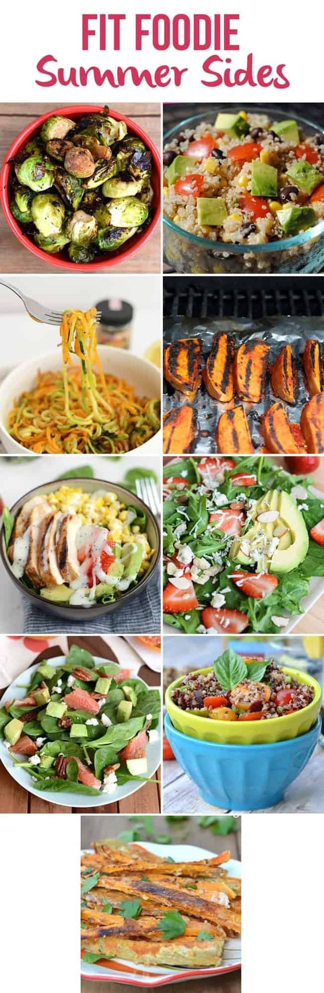 Fit Foodie Summer Sides + 33 other Healthy Summertime Recipes! via FitFoodieFinds.com