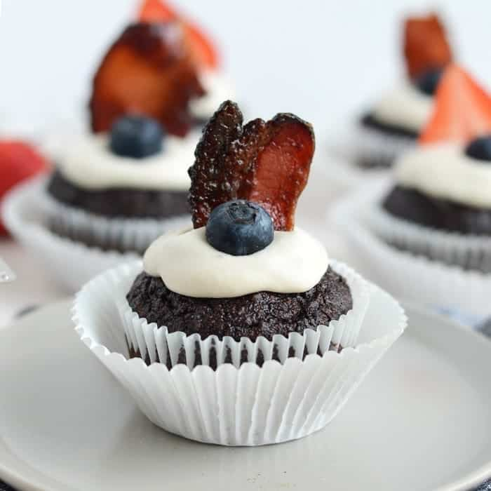Caveman Chocolate Cupcakes