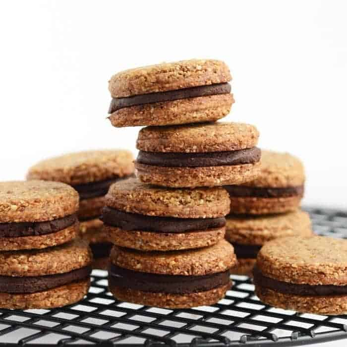 Inside-Out Grain Free Oreos