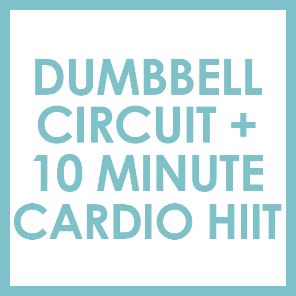 Sexy Arms Circuit Workout With Cardio HIIT