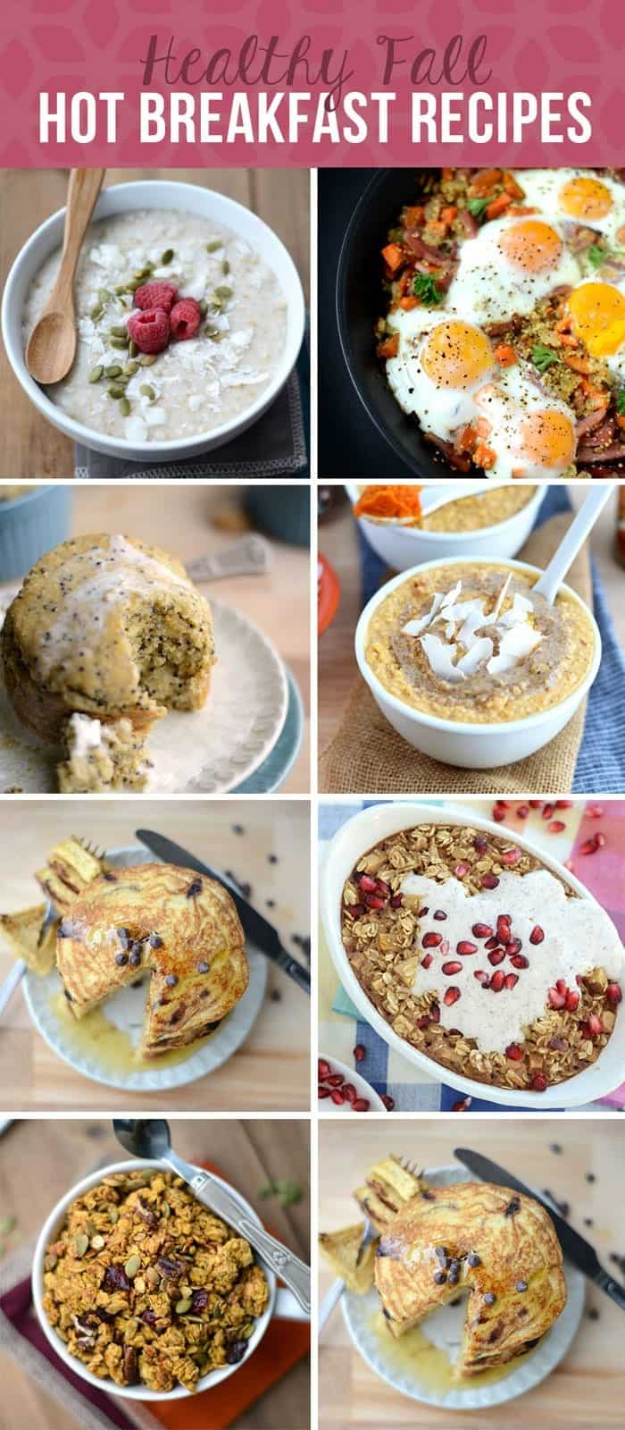 23 Healthy Recipes for Fall via FitFoodieFinds.com #glutenfree #healthyrecipe