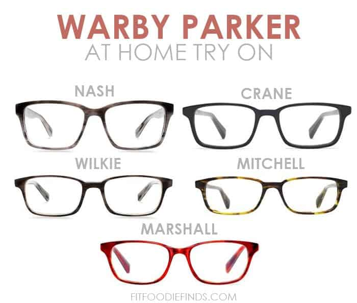 Warby Parker At Home Try On- it's FREE!