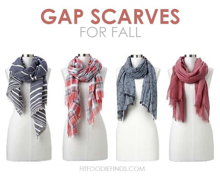 Fall Fashion- Gap Scarves