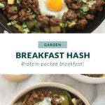 garden breakfast hash