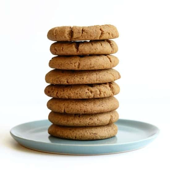 Grain-Free Protein Peanut Butter Cookies - Fit Foodie Finds