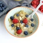 Vanilla Bean Breakfast Quinoa + Healthy Back-to-School Recipes
