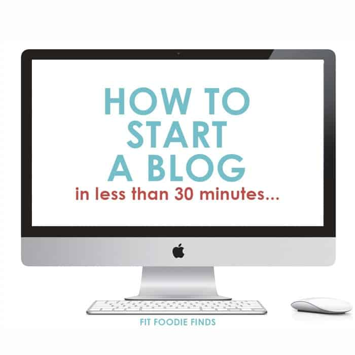 How to Start a Blog in Less Than 30 Minutes! It's easy!