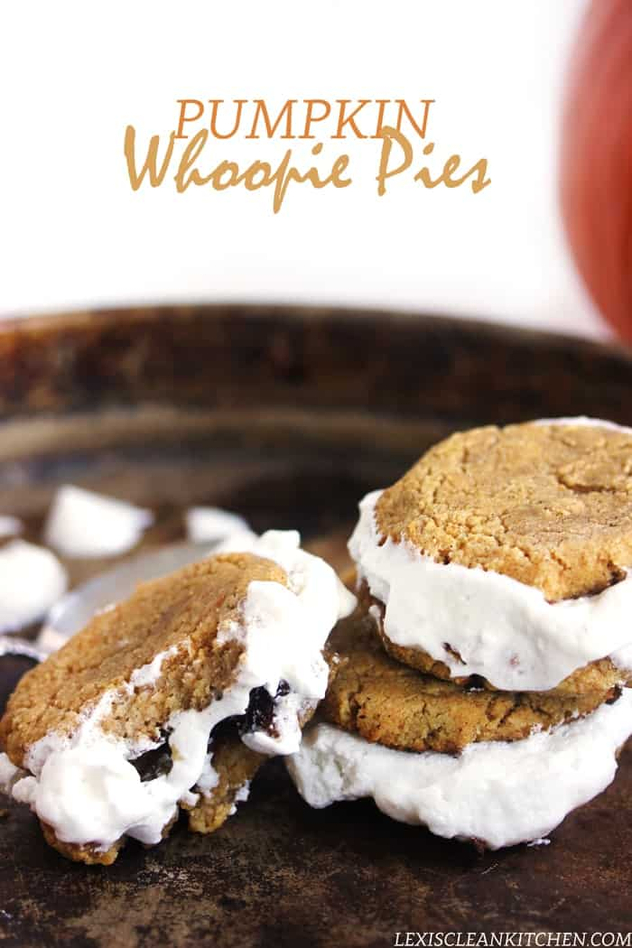 Pumpkin Whoopie Pies + More Healthy Fall Treats! #glutenfree #dairyfree #grainfree #paleo