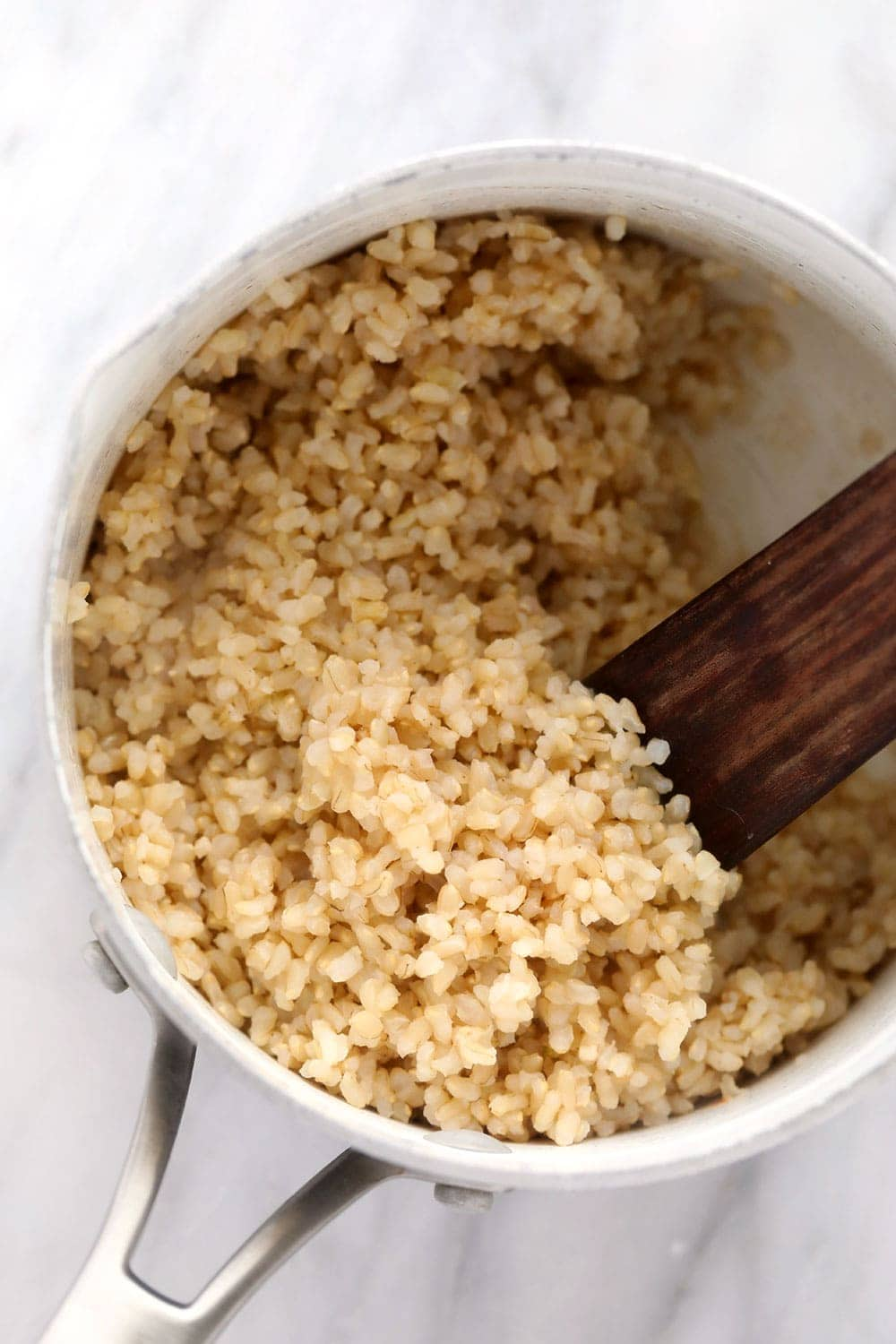 short grain brown rice for vegetarian brown rice bowls