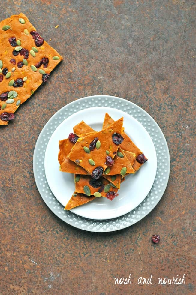 Butterscotch Pumpkin Bark + More Healthy Fall Treats! #glutenfree #dairyfree #grainfree #paleo