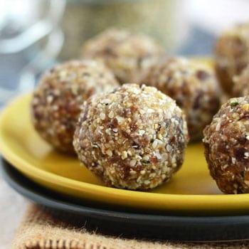Cashew Hemp Seed Balls