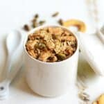 Apple Pistachio Granola #vegan #glutenfree