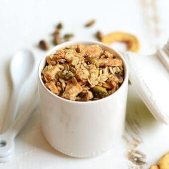 Apple Pistachio Granola
