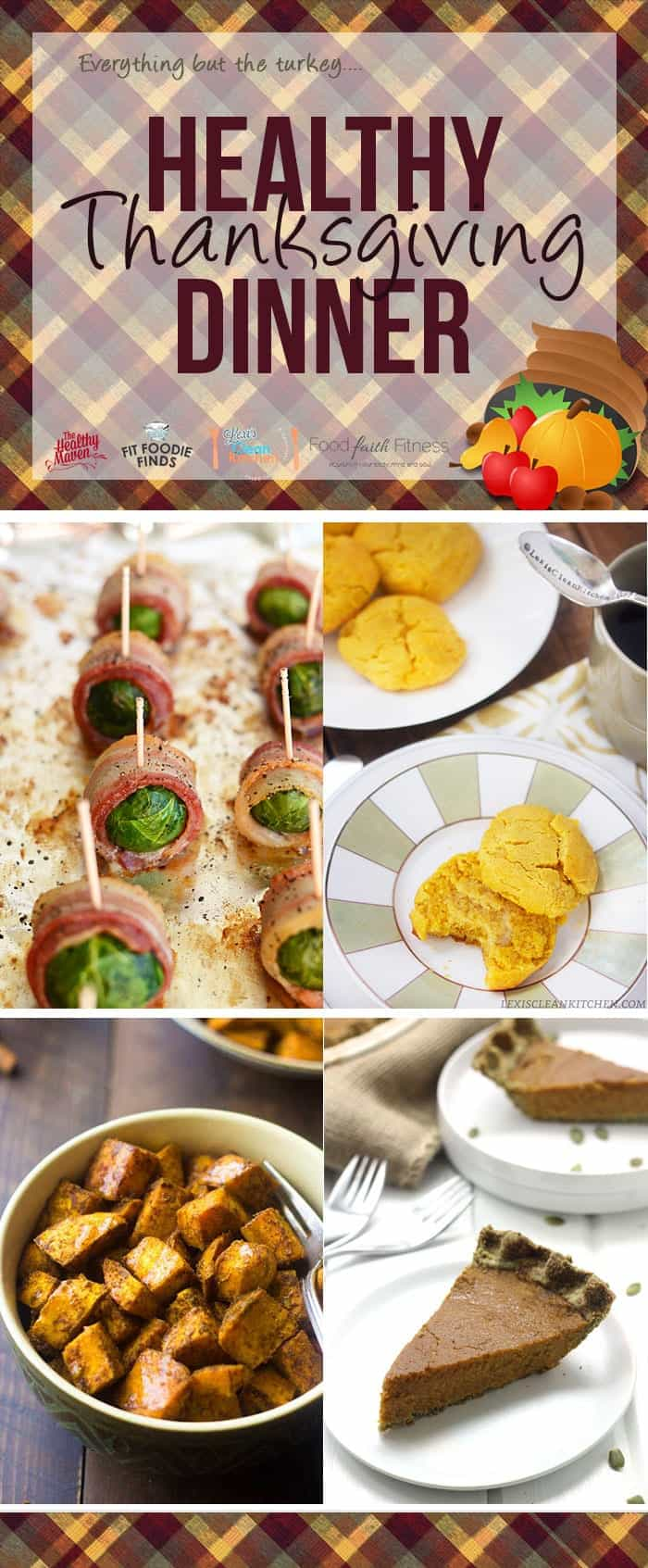 Healthy Thanksgiving Dinner Ideas- paleo recipes made with no refined sugar, gluten, dairy, or grains!