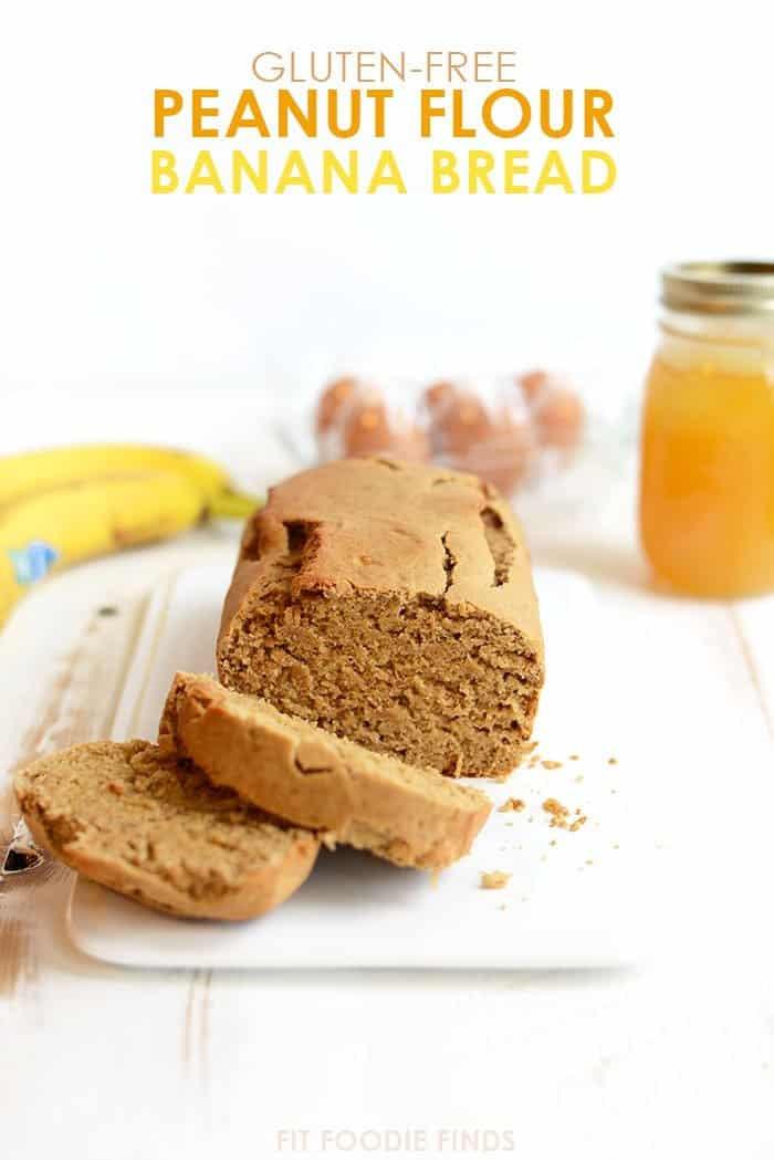 Gluten-Free Peanut Flour Banana Bread
