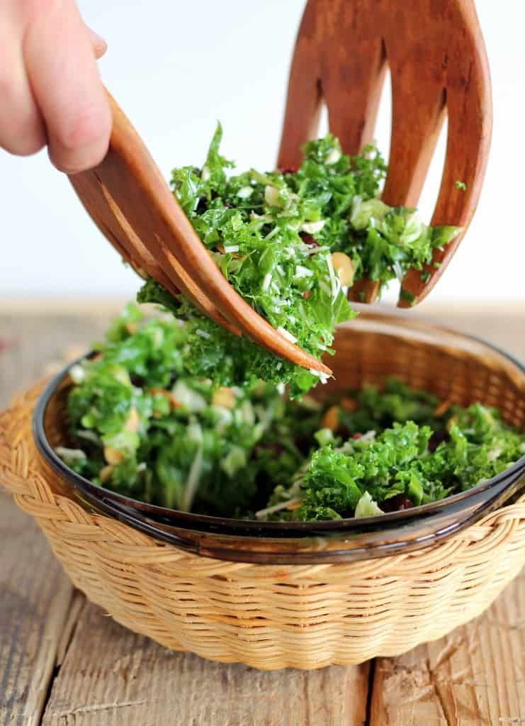 Kale and Brussels Sprouts Salad + More Healthy Detox Recipes!