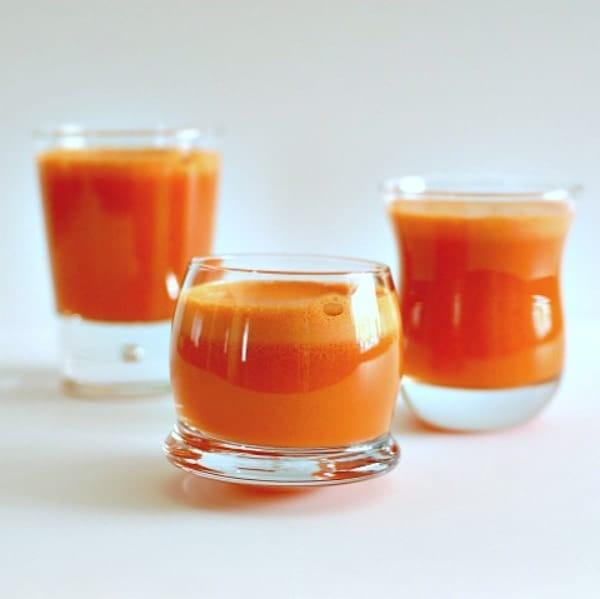 Papaya Turmeric Mocktail + More Healthy Detox Recipes!