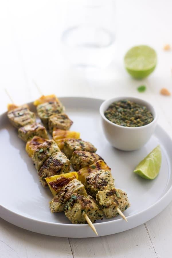 Macadamia Pesto with Grilled Mahi Mahi + More Healthy Detox Recipes!