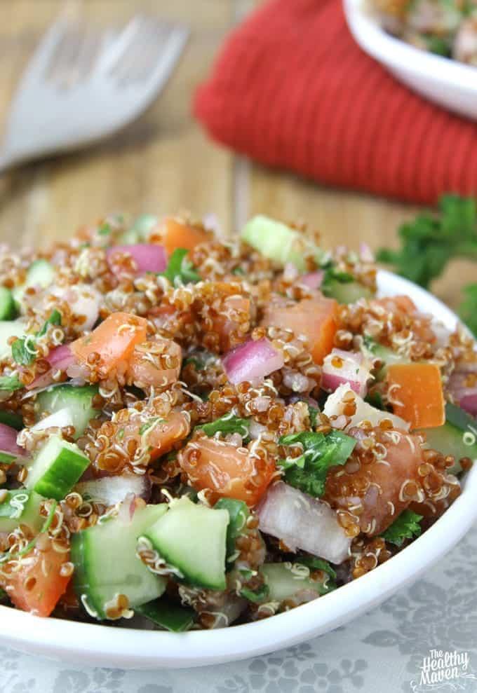 Israeli Quinoa Salad + More Healthy Detox Recipes!