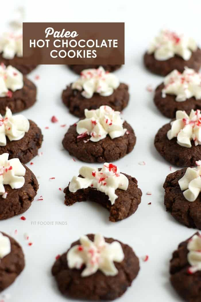 Paleo Hot Chocolate Cookies + 4 More Paleo Cookie Recipes
