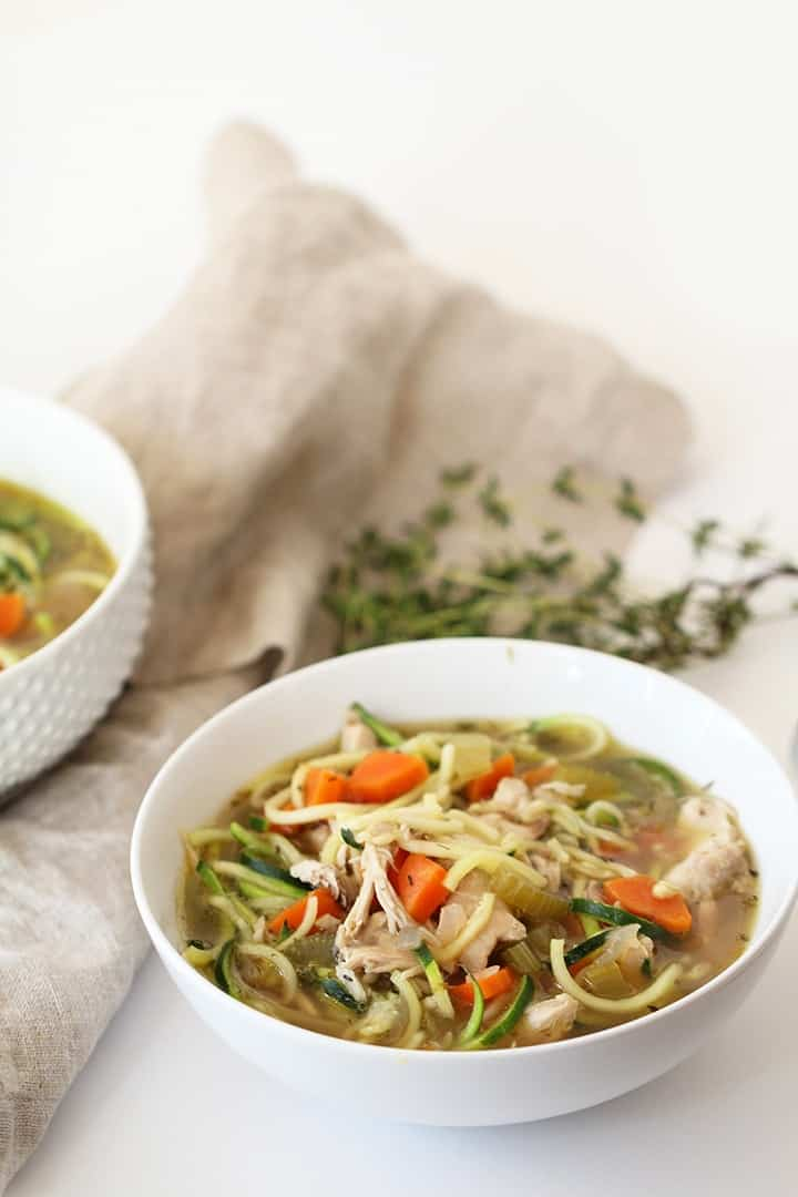 The Best Chicken and Zucchini Noodle Soup + More Inspiralized Recipes