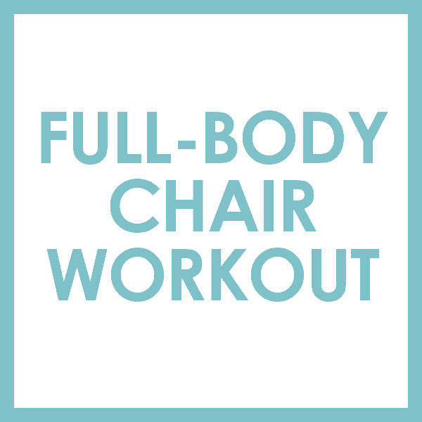 Do this barre-inspired full-body chair workout to tone, sculpt, and feel the burn!