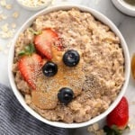superfood oatmeal in a bowl