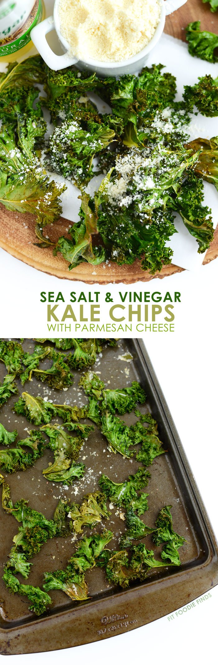 comes with potato chips? Make these sea salt and vinegar kale chips ...