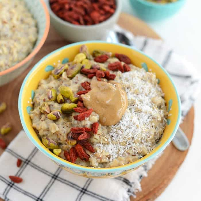 Superfood Oatmeal Bowl Fit Foodie Finds