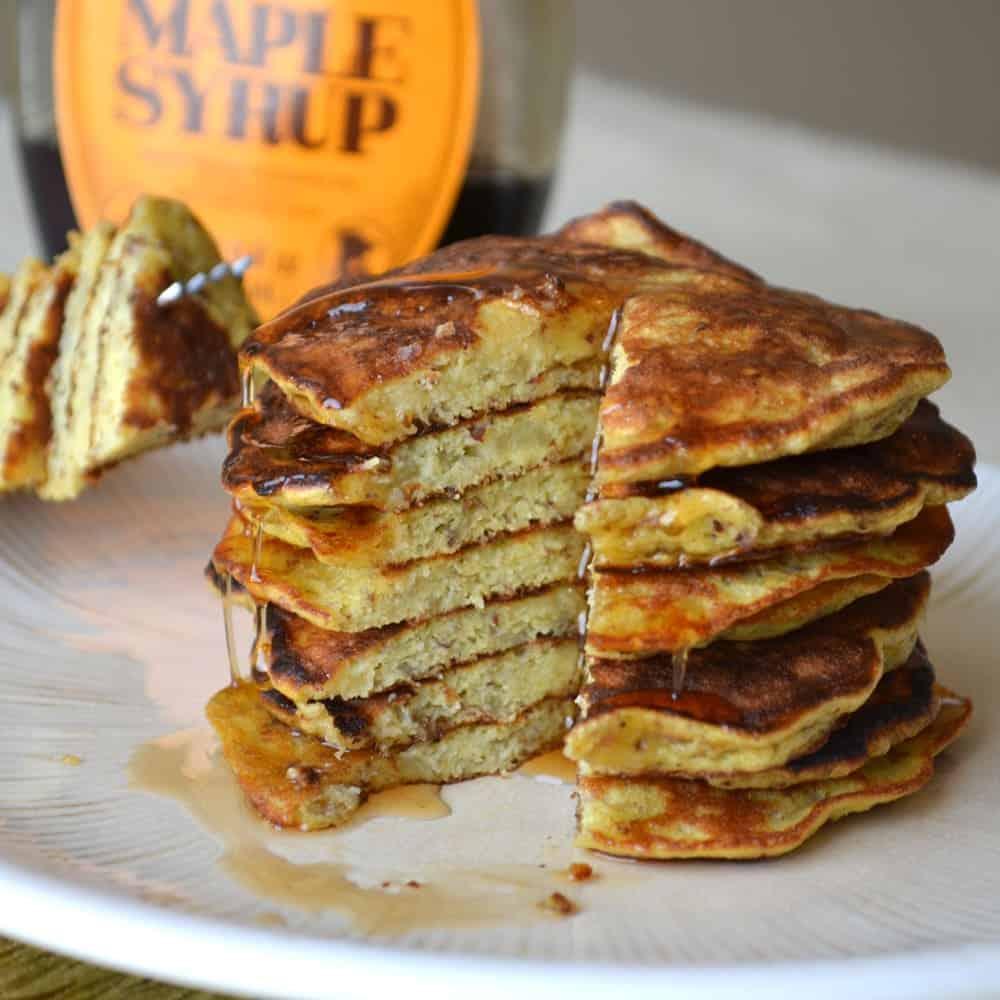 3-Ingredient Banana Pancakes + More Grain-Free Pancake Recipes