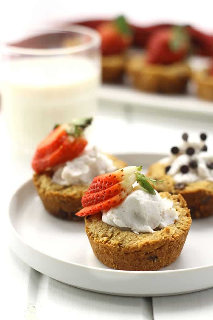 Paleo Chocolate Chip Cookie Cups + More Paleo Desserts