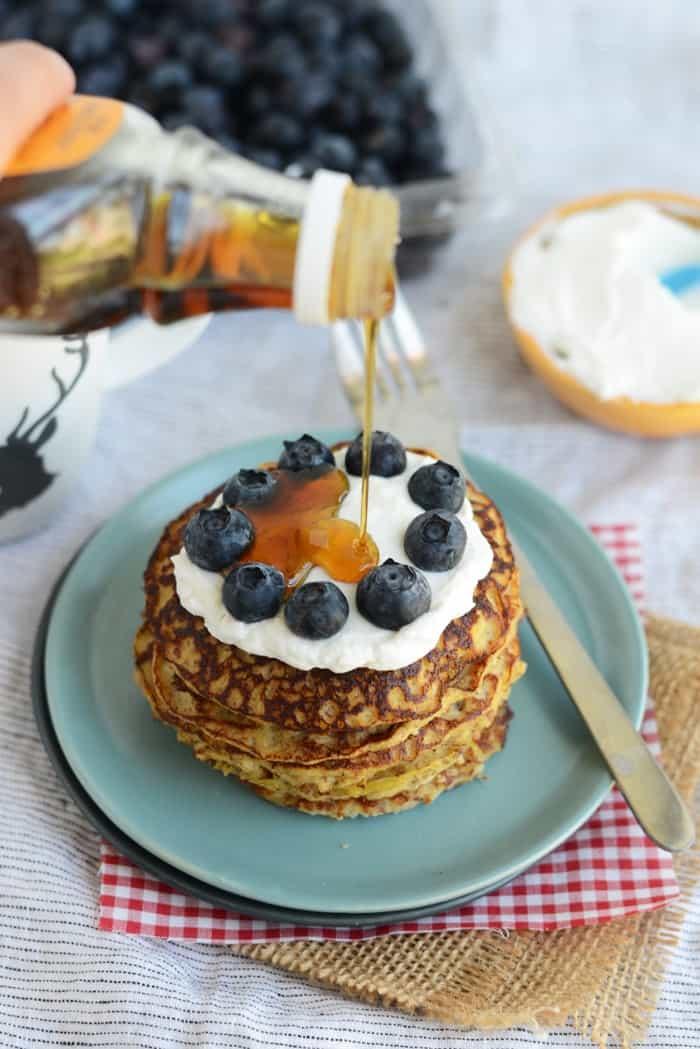 Grain-Free Applesauce Pancakes + More Grain-Free Pancake Recipes