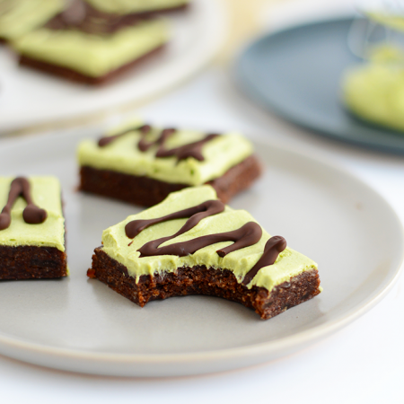 Raw Mint Brownies