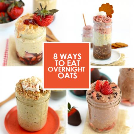 8 Ways to Eat Overnight Oats